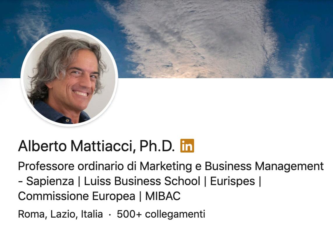 LinkedIn Alberto Mattiacci